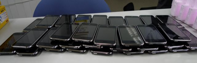 many iPhone 3Gs