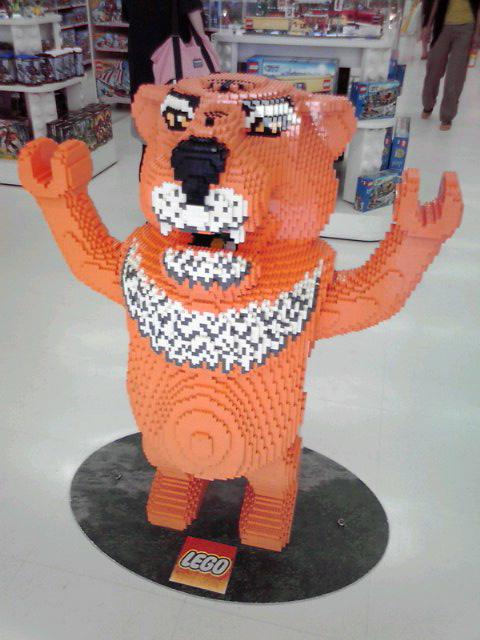LEGO の虎